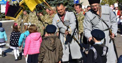 Продовження козацьких традицій на Лиманщині – 500 школярів посвячено в козачата!