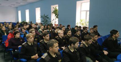 Наказний отаман Чорноморського Гайдамацького з'єднання: зустріч із студентами.