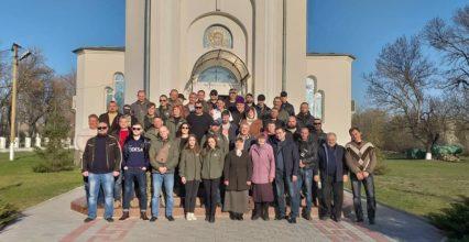 Одеські гайдамаки в Сараті разом з побратимами відстояли українську церкву